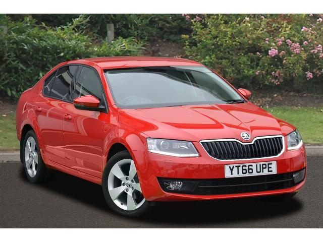 used skoda octavia 1 6 tdi 110 se sport 5dr diesel. Black Bedroom Furniture Sets. Home Design Ideas