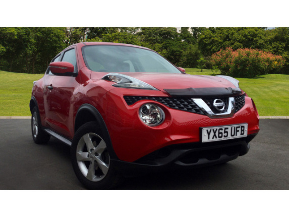 used nissan juke 1 6 visia 5dr petrol hatchback for sale. Black Bedroom Furniture Sets. Home Design Ideas